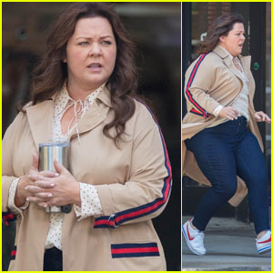 Melissa McCarthy Is on the Run While Filming 'Superintelligence'!