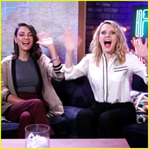 Mila Kunis & Kate McKinnon Answer Fan Questions in Hilarious Facebook Live Chat - Watch Now!