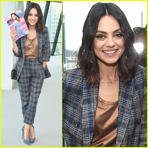 Mila Kunis Celebrates Her 'Cosmo' Cover in NYC