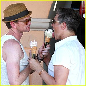 Neil Patrick Harris & David Burtka Enjoy a Vacation in France!