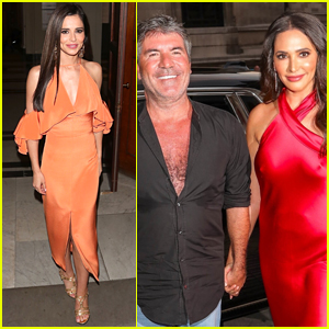 Newly Single Cheryl Cole Attends Simon Cowell's Summer Party in London