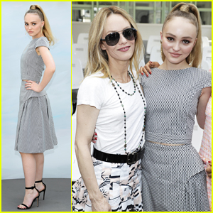 Newlywed Vanessa Paradis Joins Daughter Lily Rose Depp at Chanel Fashion Show!