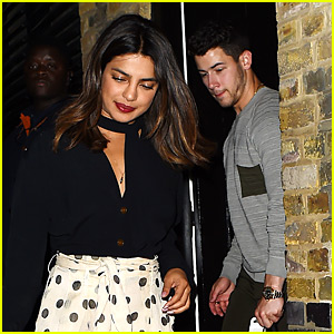Nick Jonas & Priyanka Chopra Kick Off Her Birthday Celebrations!