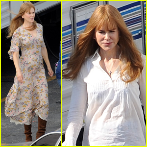 Nicole Kidman Spends the Afternoon Filming 'Big Little Lies' Season 2 in L.A.