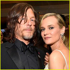 Norman Reedus' Happy Birthday Message to Diane Kruger Features a Cute Selfie!