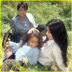 North West Makes Modeling Debut for Fendi with Mom Kim Kardashian & Grandma Kris Jenner!