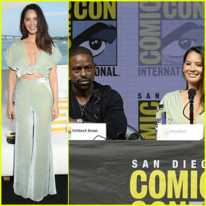 Olivia Munn & 'Predator' Cast Tease Movie at Comic-Con 2018!
