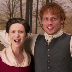 Sam Heughan & Caitriona Balfe Wrap 'Outlander' Season 4 with This Funny Video for Fans!