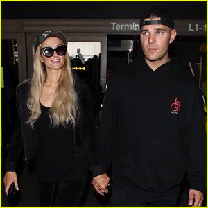 Paris Hilton & Chris Zylka Arrive Home in L.A. Together