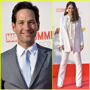 Paul Rudd & Evangeline Lilly Bring 'Ant-Man & the Wasp' to Paris