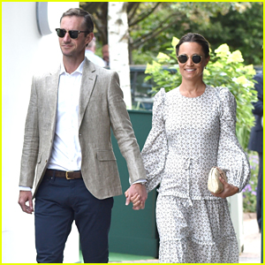 Pregnant Pippa Middleton & James Matthews Attend Wimbledon Championships 2018!