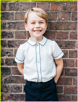 Prince George's Fifth Birthday Portrait Is Too Cute!