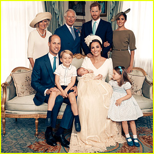 Prince Louis' Christening Photos Show the Royal Family All Gathered Together!