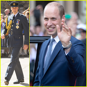 Prince William Visits Edinburgh for Honorary Commemorative Service!