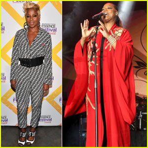 Queen Latifah & Mary J. Blige Take the Stage at Essence Fest!