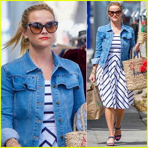 Reese Witherspoon Steps Out for Coffee Run in L.A.