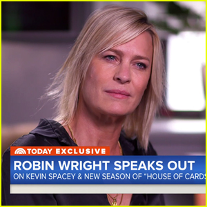 Robin Wright Addresses Kevin Spacey Allegations: 'We Were All Surprised'