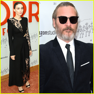 Rooney Mara & Joaquin Phoenix Step Out for 'Don't Worry, He Won't Get Far on Foot' Premiere