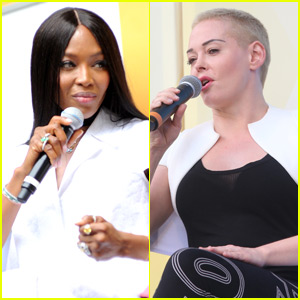 Naomi Campbell, Rose McGowan & More Take Part in Ozy Fest