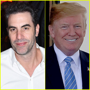 Sacha Baron Cohen Trolls Donald Trump, Seemingly Teases New Project - Watch Now!