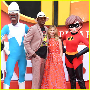 Samuel L. Jackson & Holly Hunter Premiere 'Incredibles 2' In London