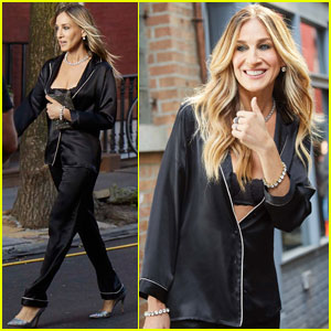 Sarah Jessica Parker Goes Behind-the-Scenes of Her 'Intimissimi' Campaign!