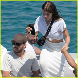 Scott Disick & Sofia Richie Take a Boat Ride During Mykonos Vacation!