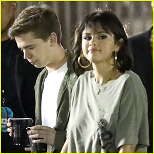 Selena Gomez Is Not Dating Caleb Stevens (aka Her BFF's Brother)