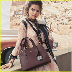 Selena Gomez Stars in Her Third Fashion Campaign For Coach