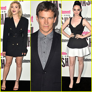 Stephen Moyer Joins 'The Gifted' Ladies at EW's Comic-Con Party