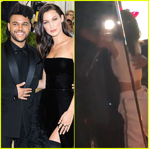The Weeknd & Bella Hadid Hug In New Instagram Video!