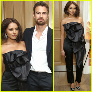 Theo James & Kat Graham Screen 'How It Ends' in NYC