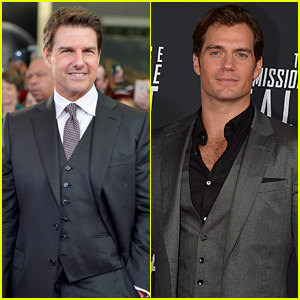 Tom Cruise & Henry Cavill Suit Up for 'Mission: Impossible' Premiere in D.C.