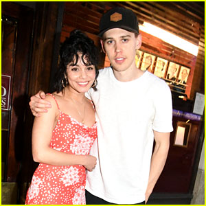 Vanessa Hudgens Supports Austin Butler at His Closing Night on Broadway