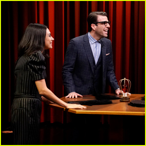 Zachary Quinto Plays Say That to My Face Challenge with Mila Kunis on 'Tonight Show'!