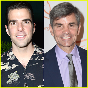 Zachary Quinto Teases 'GMA' Host George Stephanopoulos for 'Star Trek' Mix-Up - Watch!