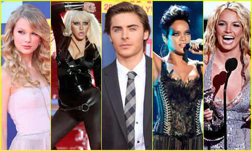 Look Back at the MTV VMAs Red Carpet From 10 Years Ago!