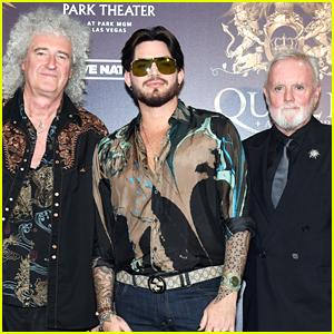 Adam Lambert & Queen Kick Off Limited Engagement Show in Vegas!