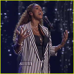 Glennis Grace Belts Out 'Greatest Showman' Tune in 'America's Got Talent' Quarterfinals - Watch!
