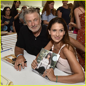 Alec & Hilaria Baldwin Attend Authors Night in East Hampton!