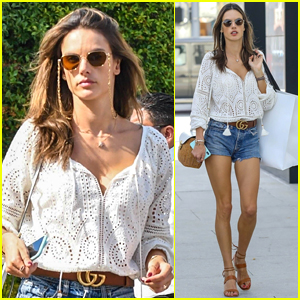 Alessandra Ambrosio Spends the Day Shopping in Beverly Hills!