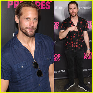 Alexander Skarsgard & Sam Rockwell Attend 'An Actor Prepares' Premiere in NYC