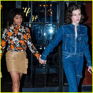 Amandla Stenberg & Girlfriend King Princess Hold Hands En Route to MTV VMAs 2018