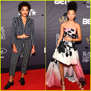 Amandla Stenberg & Storm Reid Represent Young Hollywood at Black Girls Rock Event