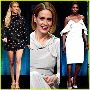The Women of 'American Horror Story' Promote Season 8 at TCA Press Tour