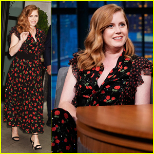 Amy Adams Says She Keeps Accidentally Calling Celebrities