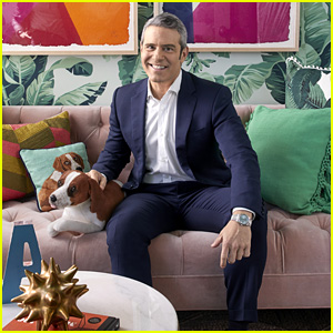 Andy Cohen Reveals the 'WWHL' Greenrooms in 'Elle Decor'