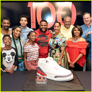 Anthony Anderson & Tracee Ellis Ross Join 'Black-ish' Cast at 100th Episode Celebration!