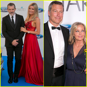 Antonio Banderas & Girlfriend Nicole Kimpel for Starlite Gala in Spain