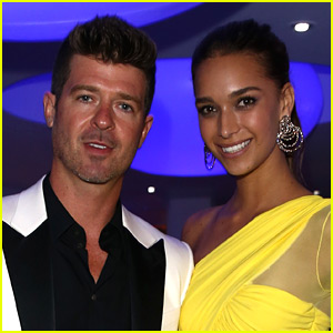 Pregnant April Love Geary Fires Back at Haters Who Say She Needs to Marry Robin Thicke